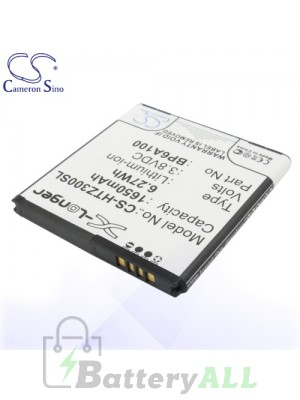 CS Battery for HTC 0PA6A100 / Desire 301 / Desire 301e / HTC Z3 Battery PHO-HTZ300SL