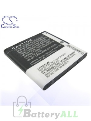 CS Battery for Google HTC BA S780 / Google G14 / HTC Doubleshot Battery PHO-HTZ710SL