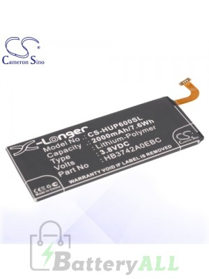 CS Battery for Huawei HB3472A0EBC / HB3742A0E8C / HB3742A0EBC Battery PHO-HUP600SL