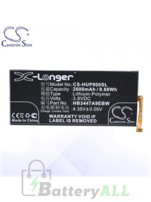 CS Battery for Huawei HB3447A9EBW / Ascend P8 / GRA-CL00 Battery PHO-HUP800SL