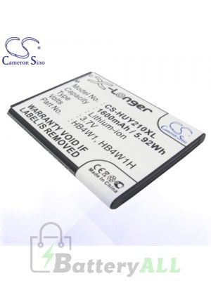 CS Battery for Huawei HB4W1 / HB4W1H / Ascend C8813D / Ascend C8813 Battery PHO-HUY210XL