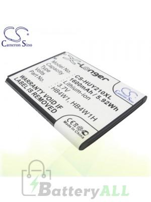 CS Battery for Huawei VALIANT VITRIA Y301A2 / Valiant Y301 Battery PHO-HUY210XL