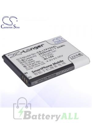 CS Battery for Lenovo BL169 / Lenovo A789 / P70 / S560 Battery PHO-LTP700XL