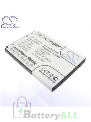 CS Battery for Lenovo BL045 / BL045A / Lenovo E118 / E206 / E209 Battery PHO-LVE210SL