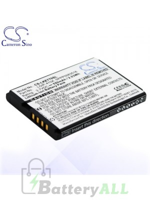 CS Battery for LG 278A / KE770 / KF500 / KF510 / KG289 / KG77 Battery PHO-LKE770SL
