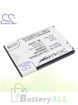 CS Battery for LG H778 / H7789 / L Bello / LG-D410 / LS885 Battery PHO-LKF260XL