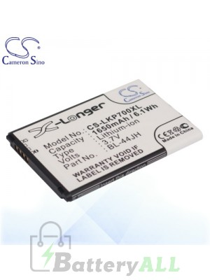CS Battery for LG Wine Smart / Wine Smart H410 / Wine Smart II Battery PHO-LKP700XL