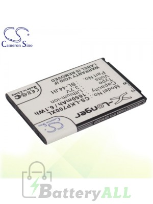 CS Battery for LG Optimus P700 / Optimus P705 / Optimus P705g Battery PHO-LKP700XL