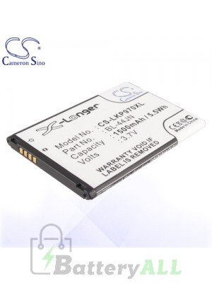 CS Battery for LG BL-44JN / EAC61679601 / 1ICP5/44/65 / LG AS680 Battery PHO-LKP970XL