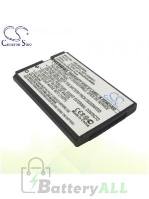 CS Battery for LG KX300 / LG-T385 / LG-T500 / TFLG440GDM3P4P Battery PHO-LKU250SL