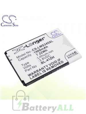 CS Battery for LG Y50 / Optimus C40 / Optimus C50 / Optimus L50 Battery PHO-LMS345XL