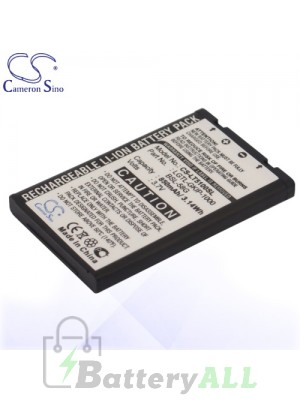 CS Battery for LG BSL-58G / LGTL-GKIP-1000 / SBPL0072126 / LG A7110 Battery PHO-LT5100SL