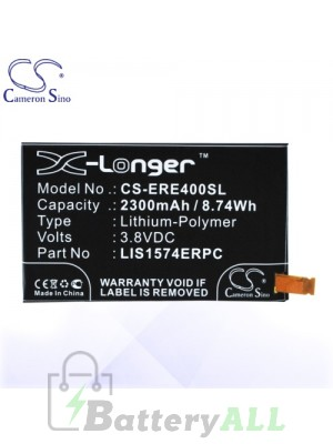 CS Battery for Sony Ericsson / Sony 1288-1798 / LIS1574ERPC Battery PHO-ERE400SL