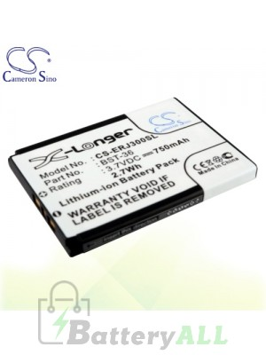 CS Battery for Sony Ericsson Z550i / Z558c / Z558i Battery PHO-ERJ300SL