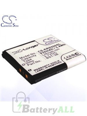 CS Battery for Sony Ericsson / Sony BST-38 / C510 Battery PHO-ERS500SL