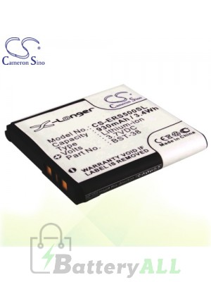 CS Battery for Sony Ericsson T650 / T650i / T658c / V640i / W150 Battery PHO-ERS500SL