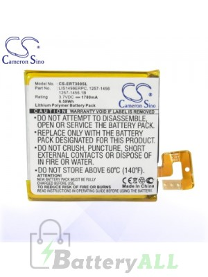 CS Battery for Sony Xperia T LT30p / Xperia TL / Xperia TL-30 Battery PHO-ERT300SL