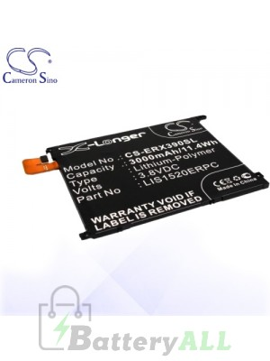 CS Battery for Sony Ericsson / Sony 1270-8451.2 / 1ICP3/82/95 Battery PHO-ERX390SL