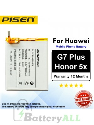 Original Pisen Battery For Huawei G7 Plus / Honor 5X Battery
