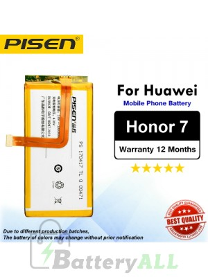 Original Pisen Battery For Huawei Honor 7 Battery