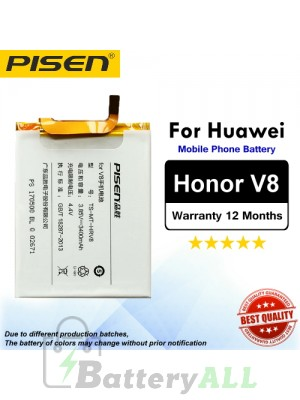 Original Pisen Battery For Huawei Honor V8 Battery