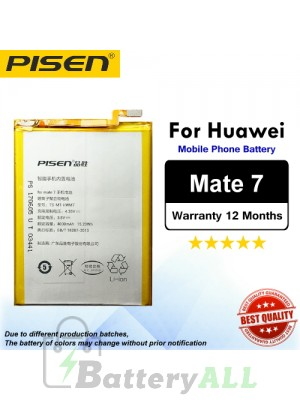 Original Pisen Battery For Huawei Mate 7 Battery