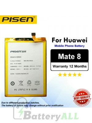 Original Pisen Battery For Huawei Mate 8 Battery