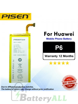 Original Pisen Battery For Huawei P6 Battery