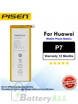 Original Pisen Battery For Huawei P7 Battery