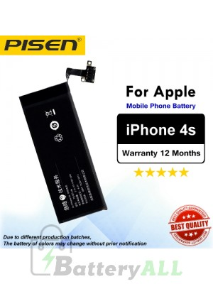 Original Pisen Battery For Apple iPhone 4s Battery