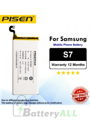 Original Pisen Battery For Samsung Galaxy S7 Battery