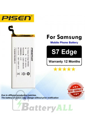 Original Pisen Battery For Samsung Galaxy S7 Edge Battery