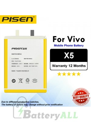 Original Pisen Battery For Vivo X5 Battery