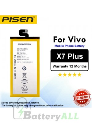 Original Pisen Battery For Vivo X7 Plus Battery