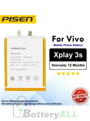 Original Pisen Battery For Vivo Xplay 3s Battery