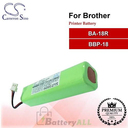 CS-PBA180SL For Brother Printer Battery Model BA-18R / BBP-18