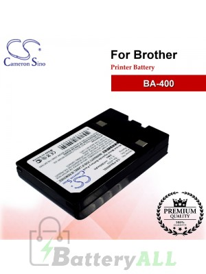 CS-PBA400SL For Brother Printer Battery Model BA-400