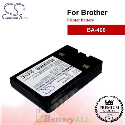 CS-PBA400SL For Brother Printer Battery Model BA-400