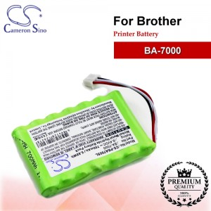 CS-PBA700SL For Brother Printer Battery Model BA-7000