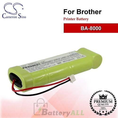 CS-PBA800SL For Brother Printer Battery Model BA-8000