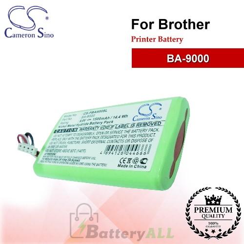 CS-PBA900SL For Brother Printer Battery Model BA-9000