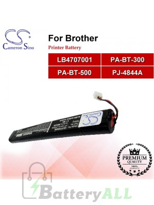 CS-PT5526SL For Brother Printer Battery Model LB4707001 / PA-BT-300 / PA-BT-500 / PJ-4844A