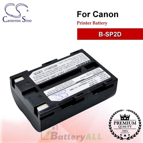 CS-SP25 For Canon Printer Battery Model B-SP2D