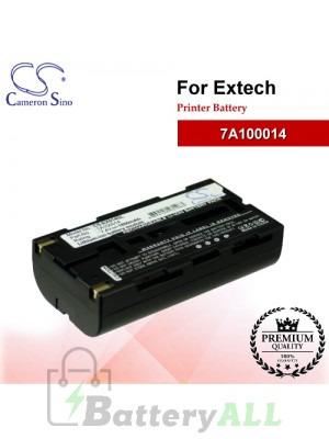 CS-EX014SL For Extech Printer Battery Model 7A100014