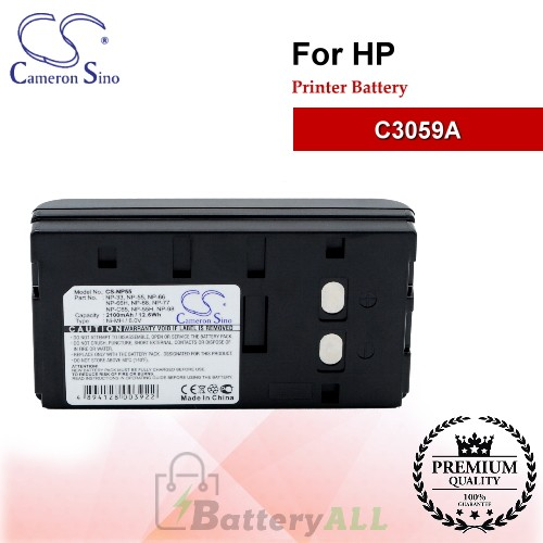 CS-NP55 For HP Printer Battery Model C3059A