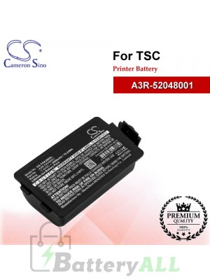 CS-THA300SL For TSC Printer Battery Model A3R-52048001