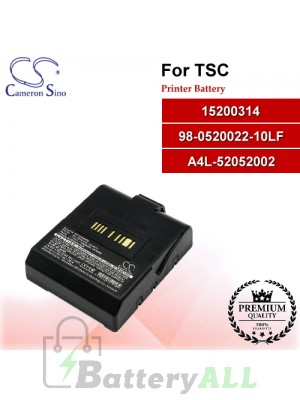 CS-THA400SL For TSC Printer Battery Model 15200314 / 98-0520022-10LF / A4L-52052002
