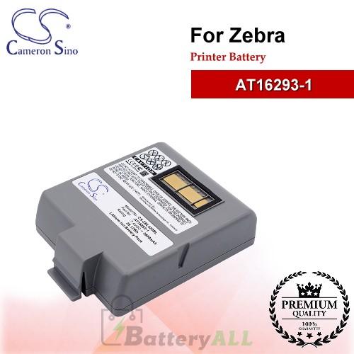 CS-ZBL420BL For Zebra Printer Battery Model AT16293-1