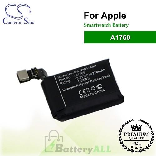 CS-IPW176SH For Apple Smartwatch Battery Model A1760