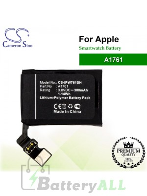CS-IPW761SH For Apple Smartwatch Battery Model A1761